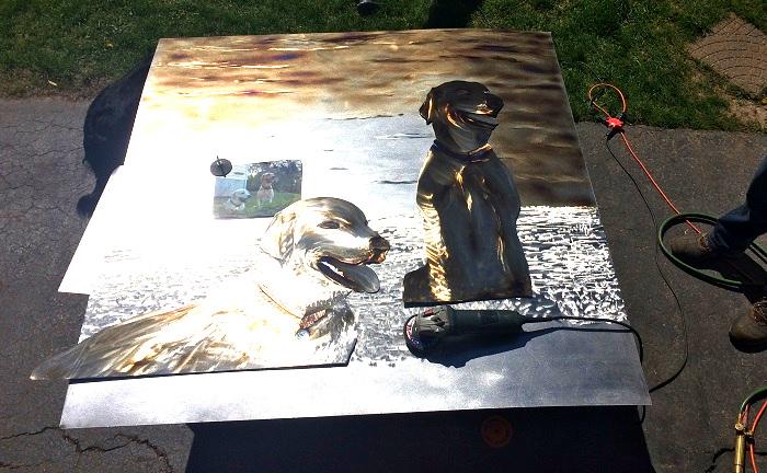 3d Dog Art