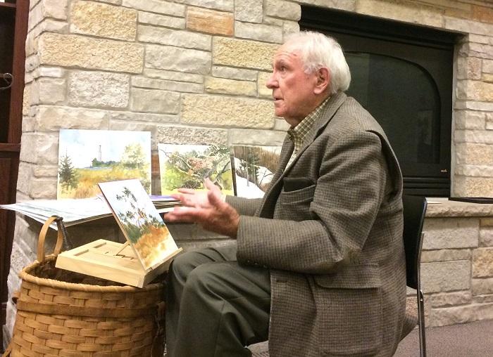 Phil Sealy Explains His Mobile Art Desk