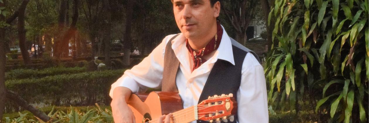 Virtual Guitar Concert with Ricardo Parra